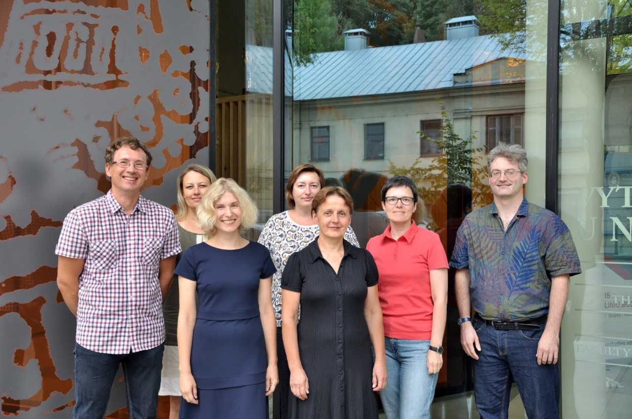 CLARIN Lithuania group photo