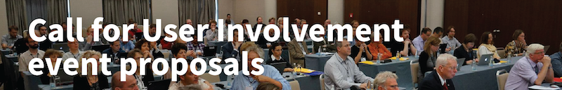 Call for User Involvement event proposal