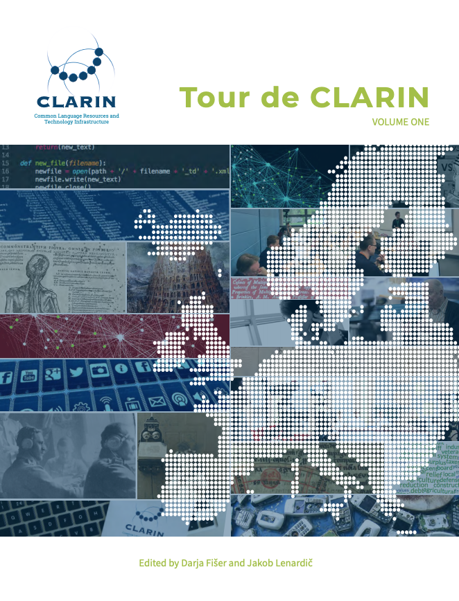 Tour de CLARIN volume I 2018 cover