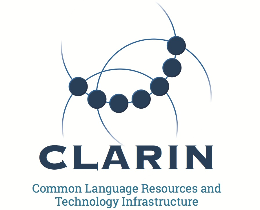 Common Language Resources and Technology Infrastructure logo