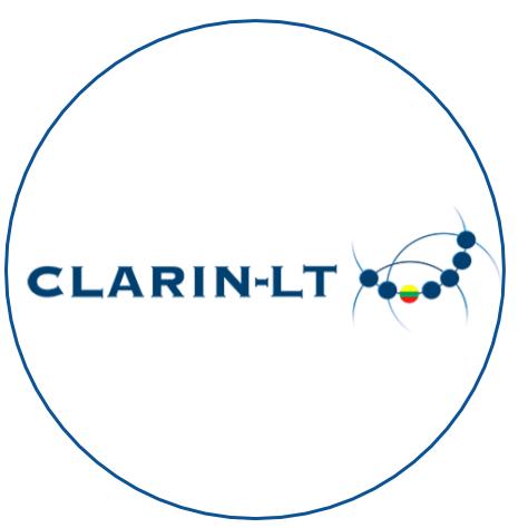 CLARIN LT circle logo
