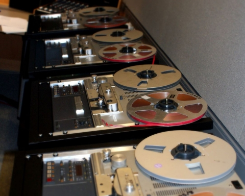 Image of British Library Sound Archive Tapes