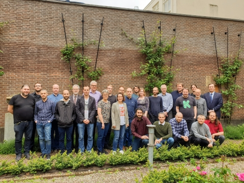 Group picture of the centre meeting 2019 participants