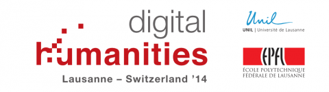 Digital Humanities 2014 conference
