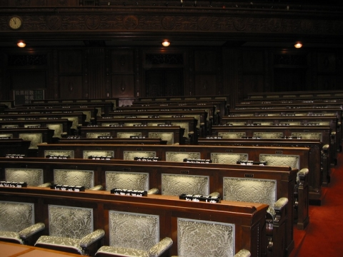 The House of Councillors, the upper house of the Diet