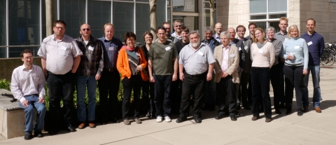 Participants of the Center Assessment Workshop