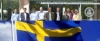 Image: Sweden flag and Lithuanian CLARIN consortium