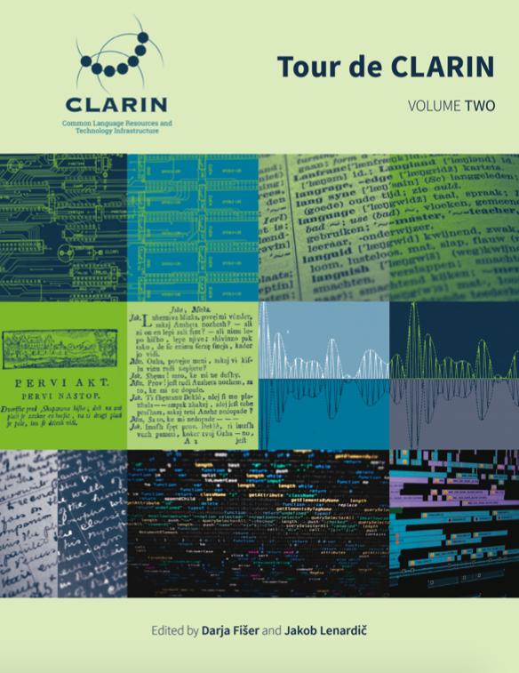 Tour de CLARIN volume I 2018 cover